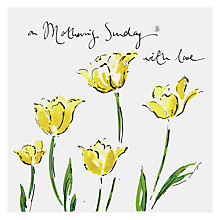 Buy Mothering Sunday Tulips Mother's Day Card Online at johnlewis.com