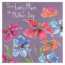 Buy To A Lovely Mum On Mother's Day Card Online at johnlewis.com