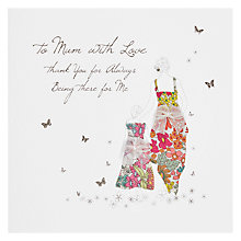 Buy To Mum With Love... Thank You Mother's Day Card Online at johnlewis.com
