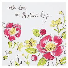 Buy With Love On Mother's Day Card Online at johnlewis.com