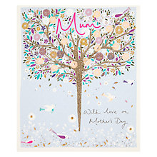 Buy Mum, With Love On Mother's Day Card Online at johnlewis.com