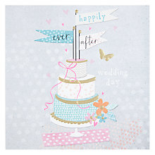 Buy Happily Ever After Wedding Card Online at johnlewis.com