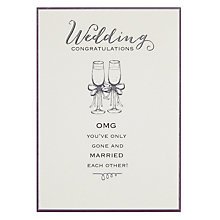 Buy Pigment Wedding Congratulations Card Online at johnlewis.com