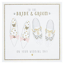 Buy To The Bride & Groom Wedding Card Online at johnlewis.com