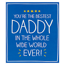 Buy Pigment Whole Wide World Father's Day Card Online at johnlewis.com