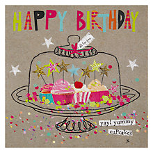 Buy Hammond Gower Cupcakes Birthday Card Online at johnlewis.com