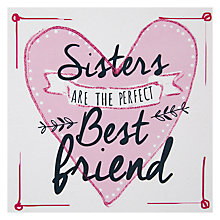 Buy Hammond Gower Sisters Are The Perfect Greetings Card Online at johnlewis.com