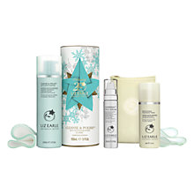Buy Liz Earle Superskin™ Face Serum, 30ml and Christmas Cleanse & Polish™ Skincare Gift Set with Liz Earle Free Gift: Brightening Treatment Mask™, 50ml Online at johnlewis.com
