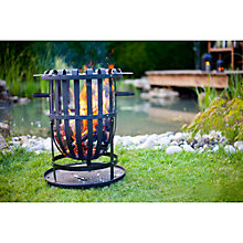 Buy La Hacienda Traditional Fire Basket With Grill Online at johnlewis.com