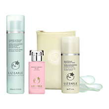 Buy Liz Earle Botanical Essence™ No.20, 50ml and Cleanse & Polish™ Hot Cloth Cleanser, 100ml with Liz Earle Free Gift: Brightening Treatment Mask™, 50ml Online at johnlewis.com