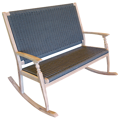 LG Outdoor Hanoi Harbour Rocking Bench, FSC-certified (Acacia)