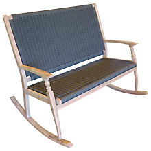 Buy LG Outdoor Hanoi Harbour Rocking Bench, FSC-certified (Acacia) Online at johnlewis.com