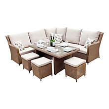 Buy LG Outdoor Saigon Heritage Highback Modular Dining Set Online at johnlewis.com