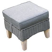 Buy LG Outdoor Hanoi Harbour Footstool, FSC-certified (Acacia) Online at johnlewis.com
