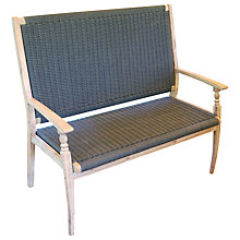 Buy LG Outdoor Hanoi Harbour 2-Seater Bench, FSC-certified (Acacia) Online at johnlewis.com