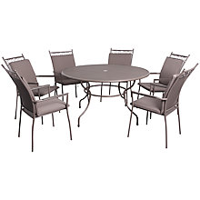 Buy LG Outdoor Richmond 6-Seater Highback Dining Set Online at johnlewis.com