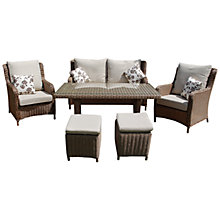 Buy LG Outdoor Saigon Heritage Highback Lounge Dining Set Online at johnlewis.com