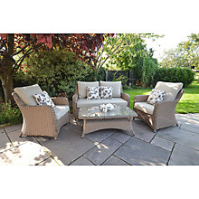 Buy LG Outdoor Saigon Heritage Lowback Lounge Coffee Set Online at johnlewis.com