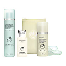 Buy Liz Earle Botanical Essence™ No.15, 50ml and Cleanse & Polish™ Hot Cloth Cleanser, 100ml with Liz Earle Free Gift: Brightening Treatment Mask™, 50ml Online at johnlewis.com