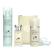 Buy Liz Earle Botanical Essence™ No.100, 50ml and Cleanse & Polish™ Hot Cloth Cleanser, 100ml with Liz Earle Free Gift: Brightening Treatment Mask™, 50ml Online at johnlewis.com