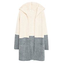 Buy Mango Monochrome Cardigan, Medium Grey Online at johnlewis.com