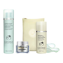 Buy Liz Earle Superskin™ Moisturiser with Natural Neroli Scent, 50ml and Cleanse & Polish™ Hot Cloth Cleanser, 100ml with Liz Earle Free Gift: Brightening Treatment Mask™, 50ml Online at johnlewis.com