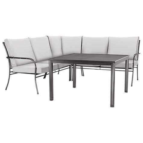 Buy john lewis henley by kettler henley corner sofa for Sofa table john lewis