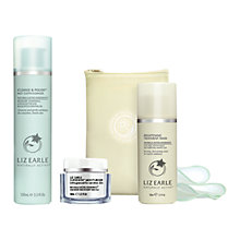 Buy Liz Earle Superskin™ Moisturiser, 50ml and Cleanse & Polish™ Hot Cloth Cleanser, 100ml with Liz Earle Free Gift: Brightening Treatment Mask™, 50ml Online at johnlewis.com