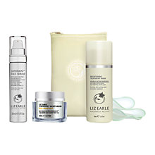 Buy Liz Earle Superskin™ Moisturiser with Natural Neroli Scent, 50ml and Superskin™ Face Serum, 30ml with Liz Earle Free Gift: Brightening Treatment Mask™, 50ml Online at johnlewis.com