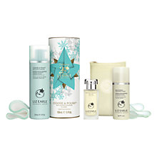 Buy Liz Earle Botanical Essence™ No.100, 50ml and Christmas Cleanse & Polish™ Skincare Gift Set with Liz Earle Free Gift: Brightening Treatment Mask™, 50ml Online at johnlewis.com