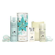Buy Liz Earle Botanical Essence™ No.15, 50ml and Christmas Cleanse & Polish™ Skincare Gift Set with Liz Earle Free Gift: Brightening Treatment Mask™, 50ml Online at johnlewis.com