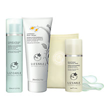 Buy Liz Earle Botanical Essence™ No.20, 50ml and Christmas Cleanse & Polish™ Skincare Gift Set with Liz Earle Free Gift: Brightening Treatment Mask™, 50ml Online at johnlewis.com
