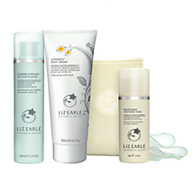 Buy Liz Earle Superskin™ Body Cream, 200ml and Cleanse & Polish™ Hot Cloth Cleanser, 100ml with Liz Earle Free Gift: Brightening Treatment Mask™, 50ml Online at johnlewis.com