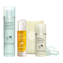 Buy Liz Earle Superskin™  Concentrate for Night, 28ml and Cleanse & Polish™ Hot Cloth Cleanser, 100ml with Liz Earle Free Gift: Brightening Treatment Mask™ , 50ml Online at johnlewis.com