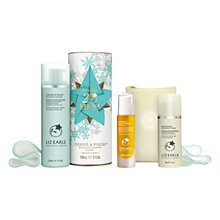 Buy Liz Earle Superskin™ Concentrate for Night, 28ml and Christmas Cleanse & Polish™ Skincare Gift Set with Liz Earle Free Gift: Brightening Treatment Mask™, 50ml Online at johnlewis.com