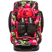 Buy Cosatto Hug 5 Point Plus Group 1, 2 & 3 Car Seat, Tropico Online at johnlewis.com