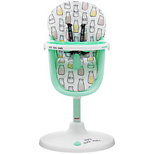 Buy Cosatto 3Sixti Circle Highchair, Milk Online at johnlewis.com