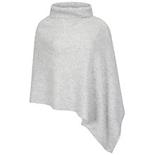 Buy Celuu Antonia Lambswool Poncho, Grey Online at johnlewis.com