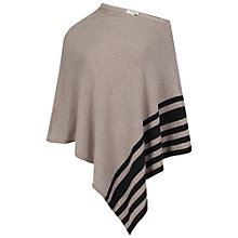 Buy Celuu Erica Lambswool Poncho, Beige Online at johnlewis.com