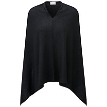 Buy Pure Collection Camborne Cashmere Sparkle Poncho, Black Sparkle Online at johnlewis.com