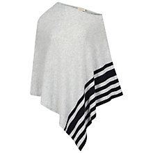 Buy Celuu Erica Lambswool Poncho, Grey Online at johnlewis.com