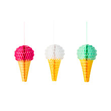 Buy Talking Tables Ice Cream Hanging Decorations Online at johnlewis.com