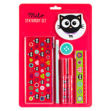 Buy Fourth Wall Brands Milo Stationery Set Online at johnlewis.com