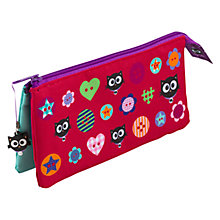 Buy Fourth Wall Brands Milo 3 Pocket Pencil Case Online at johnlewis.com