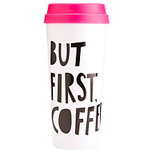 Buy Ban.do Thermal Mug, But First, Coffee Online at johnlewis.com