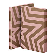 Buy Nuuna Super Star Notebook, Rose Pink & Gold Online at johnlewis.com
