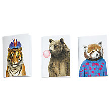 Buy Ohh Deer A6 Animal Notebooks, Set of 3 Online at johnlewis.com