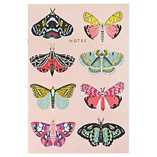 Buy Ohh Deer Large Exercise Book, Butterflies Online at johnlewis.com
