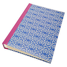 Buy John Lewis Tall Self-Adhesive Photo Album, Blue/White Online at johnlewis.com