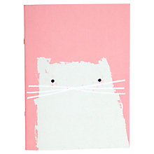 Buy Ohh Deer Large Exercise Book, Cat Online at johnlewis.com